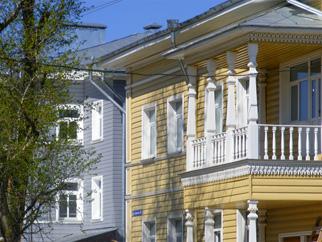 Улица Гоголя в Вологде