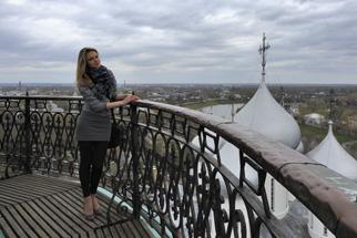 Над куполами Софийского собора