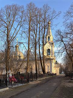 Церковь Лазаря Праведного на Горбачевском кладбище, 1775