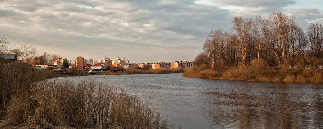 Излучина реки Вологды
