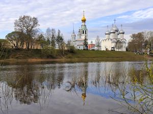 Майское утро в Вологде