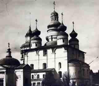 Спасский собор Спасо-Прилуцкого монастыря
