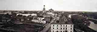 Вид на Вологодский Кремль с водонапорной башни