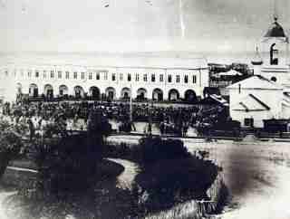 Сенная площадь в 1864 году