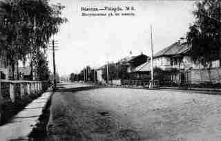 Желунцовская улица в Вологде